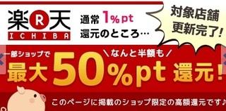 PONEY 楽天 50%還元1.jpg