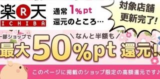 poney 楽天市場 50%還元.jpg
